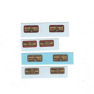 Hornby O Gauge Trade Marks Wagons 4 To Choose From Waterslide Transfer