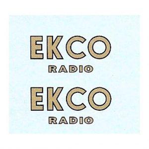 Dinky 28 Series Vans or Code 3 | Ekco Radio