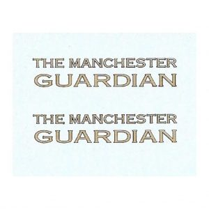 Dinky 28 Series Vans or Code 3 | The Manchester Guardian