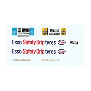 Dinky 289 Routemaster Bus   ESSO SAFETY-GRIP TYRES