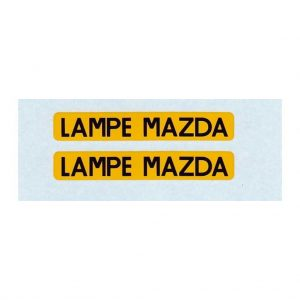 French Dinky 25B Peugeot Van   LAMPE MAZDA