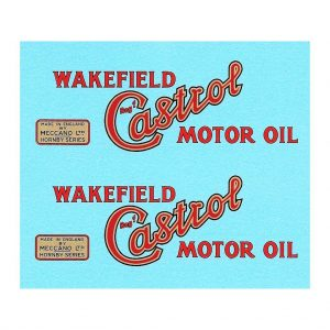 Hornby O Gauge Tanker | Wakefield Castrol Motor Oil
