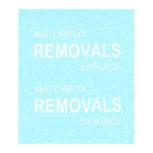 Matchbox 17a Bedford Van | Matchbox Removals Service