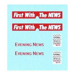Matchbox 42a Bedford Van | Evening News