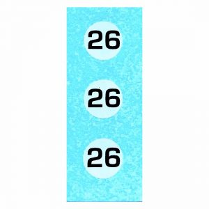 Dinky 107 Sunbeam Alpine Sports   Blue Racing Car Number 26 Transfer