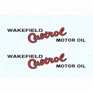 Dinky 25d Petrol Tanker | Wakefield Castrol Waterslide Transfer/Decal