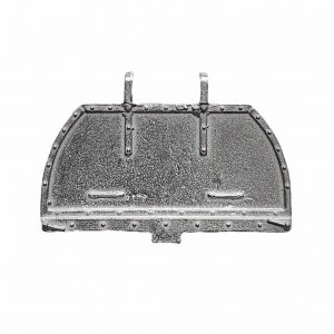 Dinky 25v/252 Bedford Refuse Wagon Tailgate White Metal