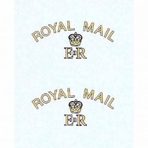 Dinky 260 Morris J Van | Royal Mail Waterslide Transfer/Decal